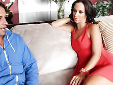 Stunning Mom Jada Stevens Banged On The Couch