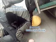 Chinese Femdom - Public Subway Dog.