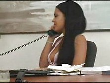 Lesbian Boss Gives An Anal Lesson...