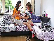 Teen Amateur Girls Masturbating Together