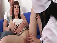 Sam The Vigin Gets Her Hymen Checked By A Nurse Before Her First