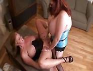 Bbw Lesbian Strapon