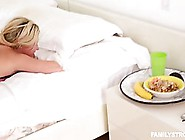 Blonde Woman Woke Up Very Early In The Morning And Had An Amazin