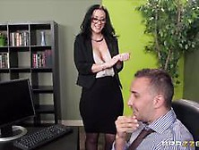 Saucy Secretary Jayden James Gets Punished