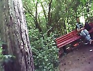 Jerking Off With A Guy Caught With Cock Out In The Park