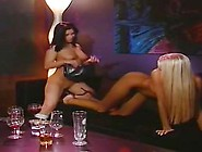 British Lesbo Carrie Lee And Ally In A Club