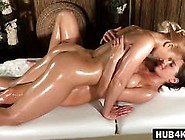 Anabelle And Tracy Enjoying Lesbian Massage