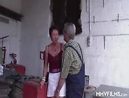Oma Und Opa Ficken Im Schuppen