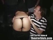 Tampa Teen Cum Slut Sucks & Fucks Porn Theater Pervs