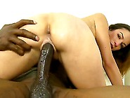 Skinny Brunette Whore Amber Rayne With Natural Tits And Cheep Ta
