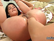 Wicked Lesbian Bombshells Are Gaping And Fist Fucking Anals