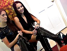 Princess Beverly Boot-Wipe Reward Femdom