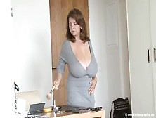 Milena Pays With Her Huge Tits