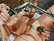 Kelly Divine Fists Her Ass And Gets It Smashed By A Fucking Mach