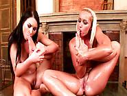 Antonia And Kathia Nobil In The Hot Foot Fetish Scene