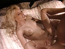 Peter North Destroys Lynn Lemay's Pussy With His Thick Meat
