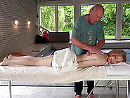 Brutally-Hot Emily Ross Gets Bonked By The Lucky Mature Geezer