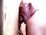 We Put A Hot Silverbear Behind The Gloryhole And Waited For A Co