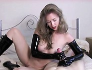 Hot Milf Works With Her Hands And Pussy To Make Dick Cum