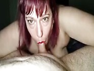 Bbw Sexy Eyes Surrounds Cock With Huge Tits While Giving Hot Blo