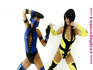 Cosplay Erotica - Ginger Lee - Secret Stage - Mortal Kombat Paro