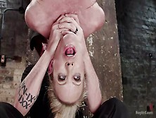 Choking her during orgasm