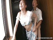 Mature Japanese Housewife Loves To Have Her Nipples Sucked