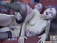 New Girl Feels The Power Of The Boss's Long Cock