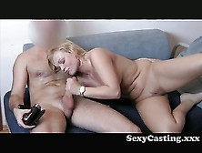 Casting - Chubby Wife Gets It In The Ass