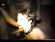 Vintage Collared Cuckold Bbc Oral-Stimulation Wench