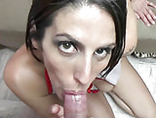 Busty Wife Lavender Rayne Takes A Stiff Cock From A Geek