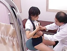 Gynecologist Examins The Hot Bun And Ass Of An Asian Slut