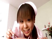 Asian Bukkake Fetish Slut Nurse Sucking Cock