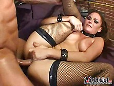 Busty Venus Takes Cock In Her Anus