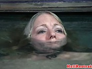 Busty Sub Cocksucking Before Being Drowned