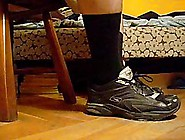 Black Socks And My Smelling Sport Boots