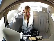 Taxi Driver Fucks Her Passenger