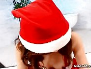 Free Porn Tube Dirty Talking Japanese Santa's Helper Gets F