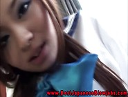 Young Japanese Schoolgirl Gives Bj