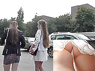 Gorgeous Young Girls In The Free Upskirt Porn