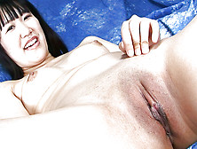 Adorable Japanese Lady With Small Nipples Is Showing Her Cave