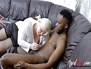 Horny Mature Busty Needs Huge Black Cock In Mouth