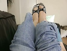 Nylon Sniff And Footjob - Xhamster. Com