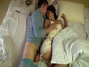 Hot Japanese Housewife Wakes Up Her Sleepy Husband And Forces Hi