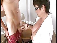 Busty Teacher Services A Young Hard Stud!