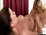 Big Boobs Shemale Gives Woman A Nice Massage And Fucked