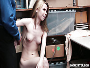 Young Skinny Shoplyfter Must To Be Punished Fully Naked
