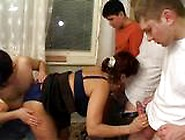 Mature With Dudes Gangbang 2