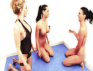 Very Nice Lesbian Action With Three Magnificent Babes