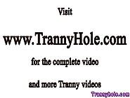 Blonde Ts Trans Being Ass Slammed By Lucky Guy